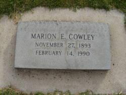 Marion Whitesides <I>Ellison</I> Cowley