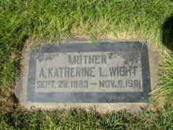 Anna Katherine <I>Larsen</I> Wight