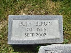 Ruth <I>Sanders</I> Bergin