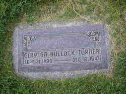 Clayton Bullock Turner