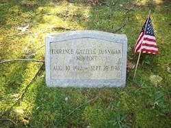 Florence Gazelle <I>Dunnigan</I> Newport