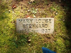Mary Louise <I>Audas</I> Bernhard