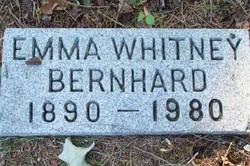 Emma <I>Whitney</I> Bernhard
