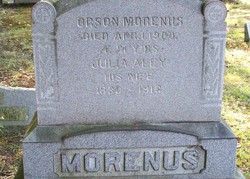 Julia <I>Aley</I> Morenus