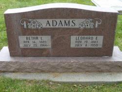 Leonard Ellsworth Adams