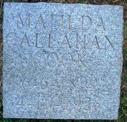 Matilda <I>Callahan</I> Cook