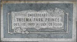 Thelma <I>Park</I> Prince