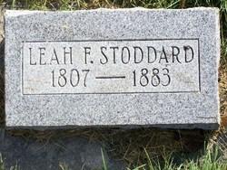 Leah <I>Fickes</I> Stoddard