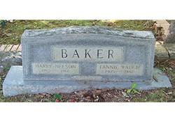 Fannie <I>Waugh</I> Baker