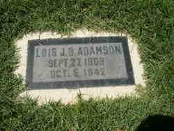 Lois Jane <I>Bishop</I> Adamson