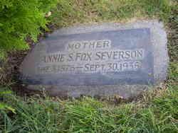 Annie Maria <I>Stone</I> Severson
