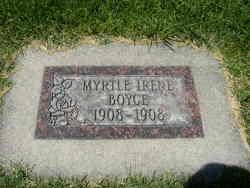 Myrtle Irene Boyce