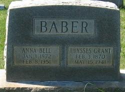 Anna Bell <I>Baber</I> Baber