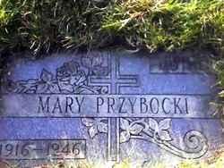 Mary <I>Kwiatkowski</I> Przybocki