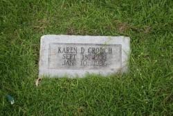 Karen D Crouch