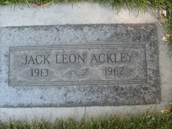 Jack Leon Ackley