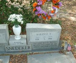 Marjorie Anne <I>Bazemore</I> Snedeker
