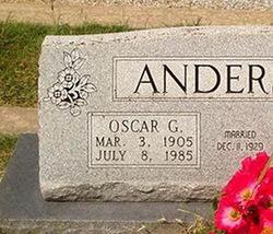 Oscar G. Anderson