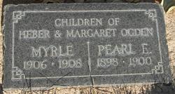 Pearl Ellen Ogden