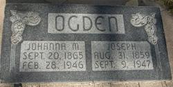 Johanna Marie <I>Christensen</I> Ogden