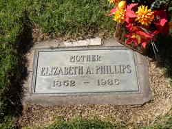 Elizabeth Ann <I>Hewitson</I> Phillips
