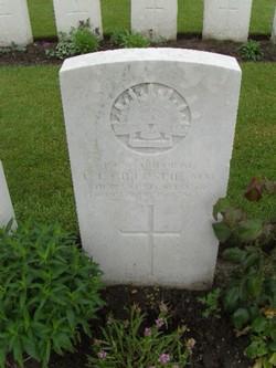 Corporal Leonard James Gillespie