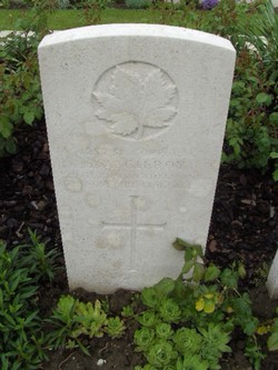 Corporal Seymour Arthur Gilroy