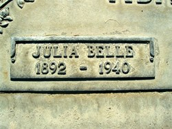 Julia Belle <I>Grover</I> Adams
