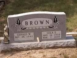 Lola E. <I>Watkins</I> Brown