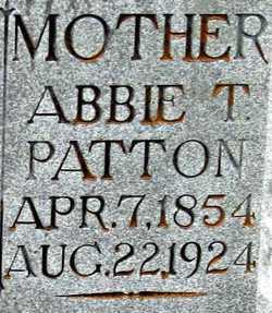Abbie T <I>Smith</I> Patton