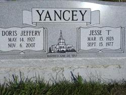 Jesse T Yancey