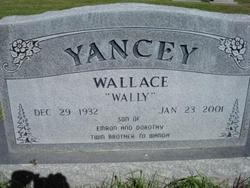 "Wallace ""Wally"" Yancey"