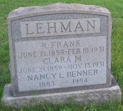 R. Frank Lehman