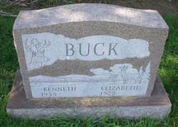"""Elizabeth """"Betty"""" <I>Hann</I> Buck"""