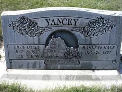 Marlene <I>Hale</I> Yancey