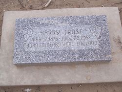 Harry Frost