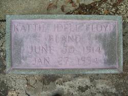 Kattie Idell <I>Floyd</I> Bland