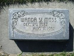 Wanda <I>Yancey</I> Moss