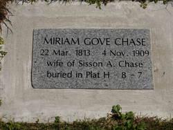 Miriam <I>Gove</I> Chase