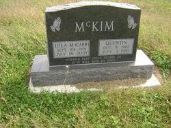 Quentin H McKim