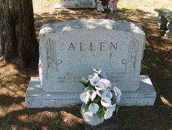 """Elizabeth J. """"Lizzie"""" <I>Lindsay</I> Allen"""