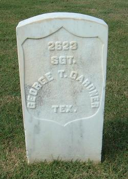 SGT George Thomas Gardner