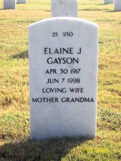 Elaine J Gayson