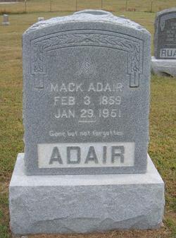 Mack Adair, Sr