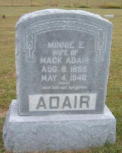 "Arminda E. ""Minnie"" <I>Hinkle</I> Adair"