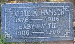 Hattie Catherine Jensen <I>Allred</I> Hansen