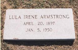 Lula Irene <I>Faulkner</I> Hedge Armstrong