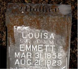 Rachel Louisa <I>Brammer</I> Emmett