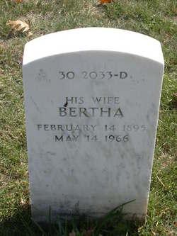 Bertha M <I>Webb</I> Gates