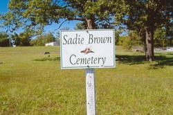 Sadie Brown Cemetery